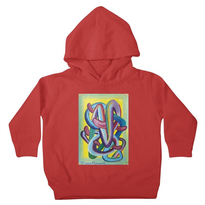 Formas en el espacio 6 Kids Toddler Pullover Hoody by diegomanuel's Artist Shop