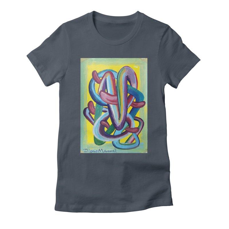 Formas en el espacio 6 Women's T-Shirt by Diego Manuel Rodriguez Artist Shop