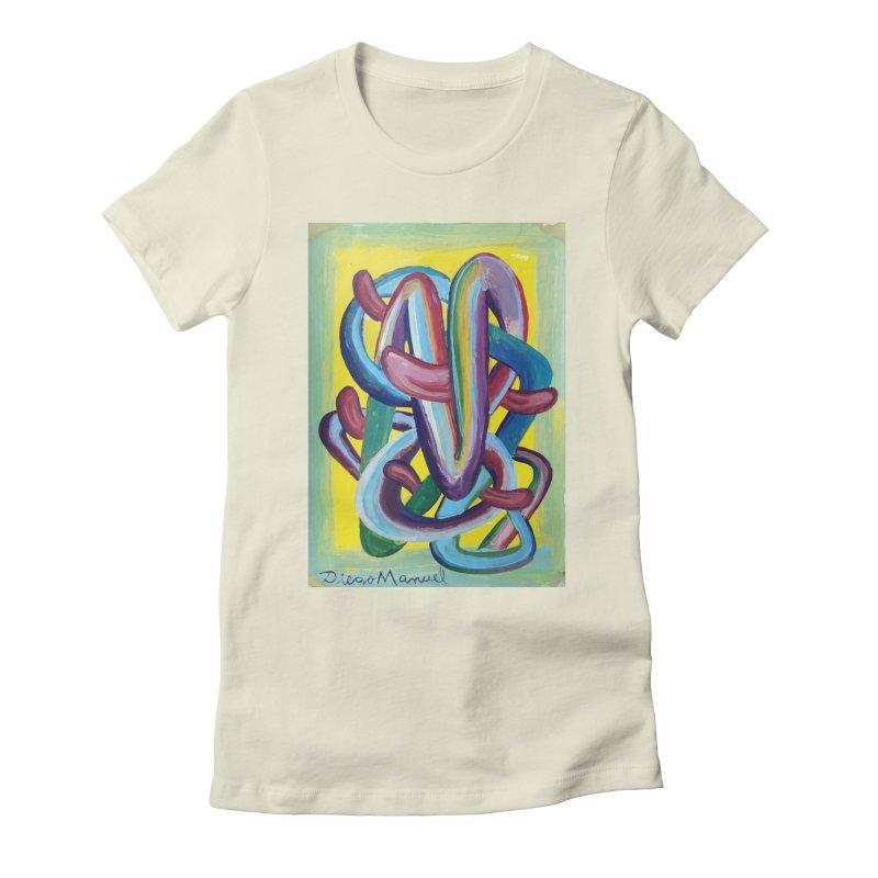 Formas en el espacio 6 Women's Fitted T-Shirt by diegomanuel's Artist Shop