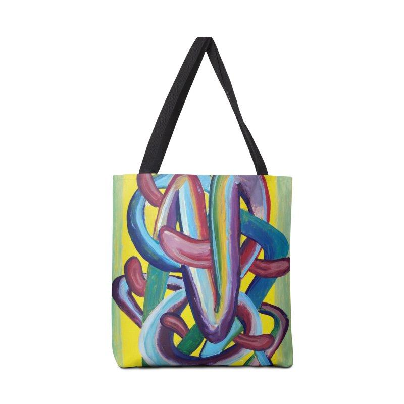 Formas en el espacio 6 Accessories Bag by diegomanuel's Artist Shop