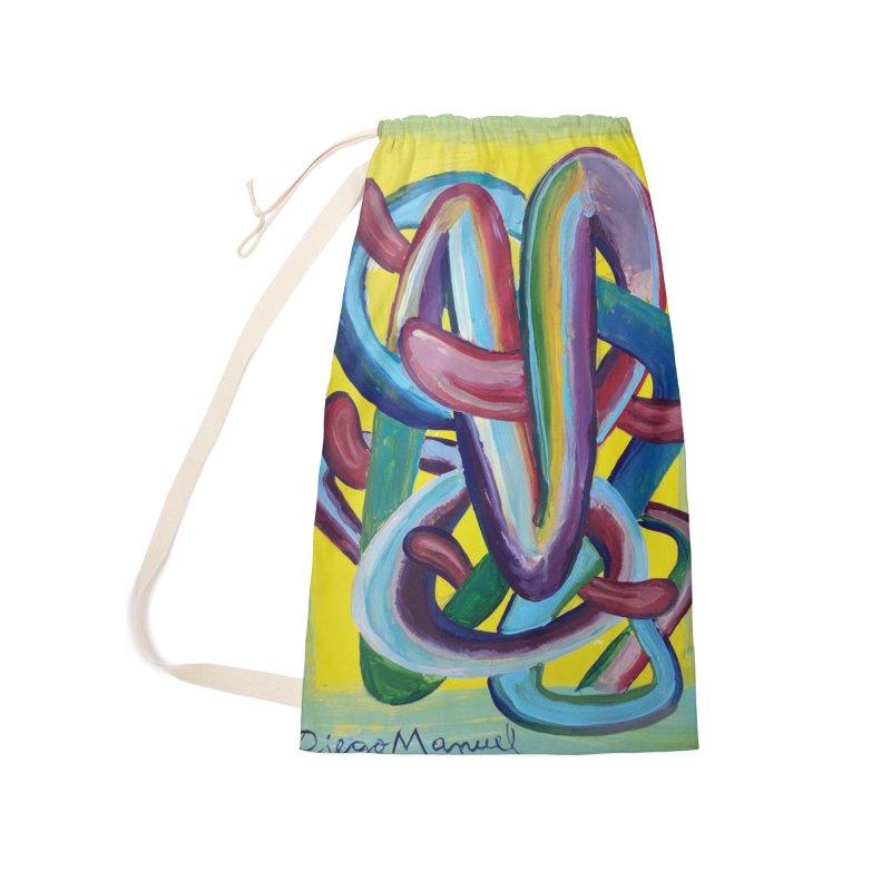 Formas en el espacio 6 Accessories Bag by Diego Manuel Rodriguez Artist Shop