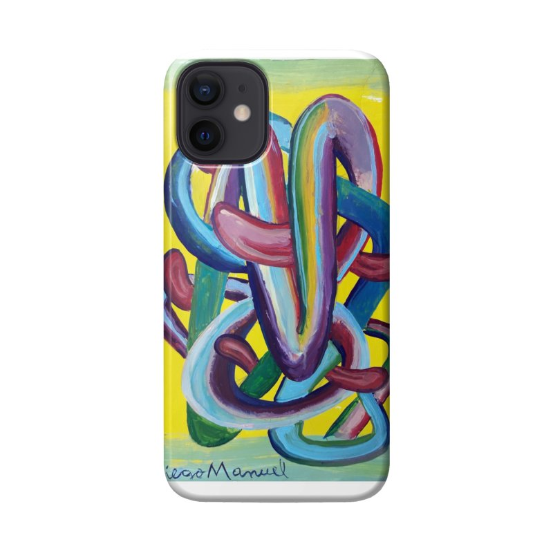 Formas en el espacio 6 Accessories Phone Case by Diego Manuel Rodriguez Artist Shop