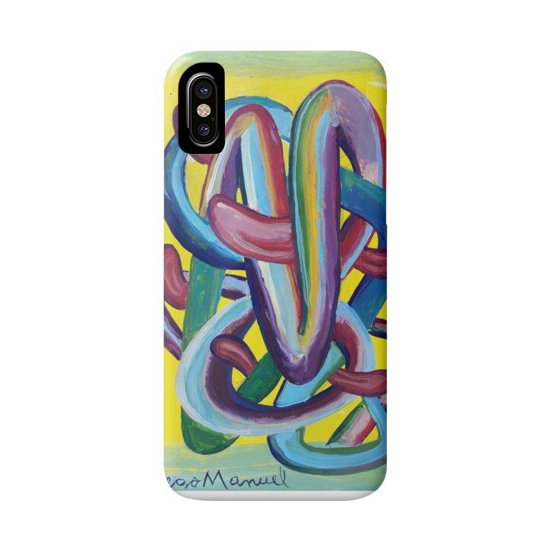 Formas en el espacio 6 Accessories Phone Case by diegomanuel's Artist Shop