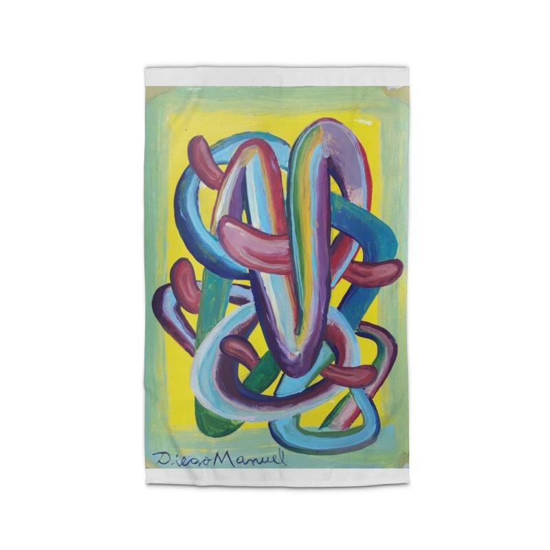 Formas en el espacio 6 Home Rug by diegomanuel's Artist Shop