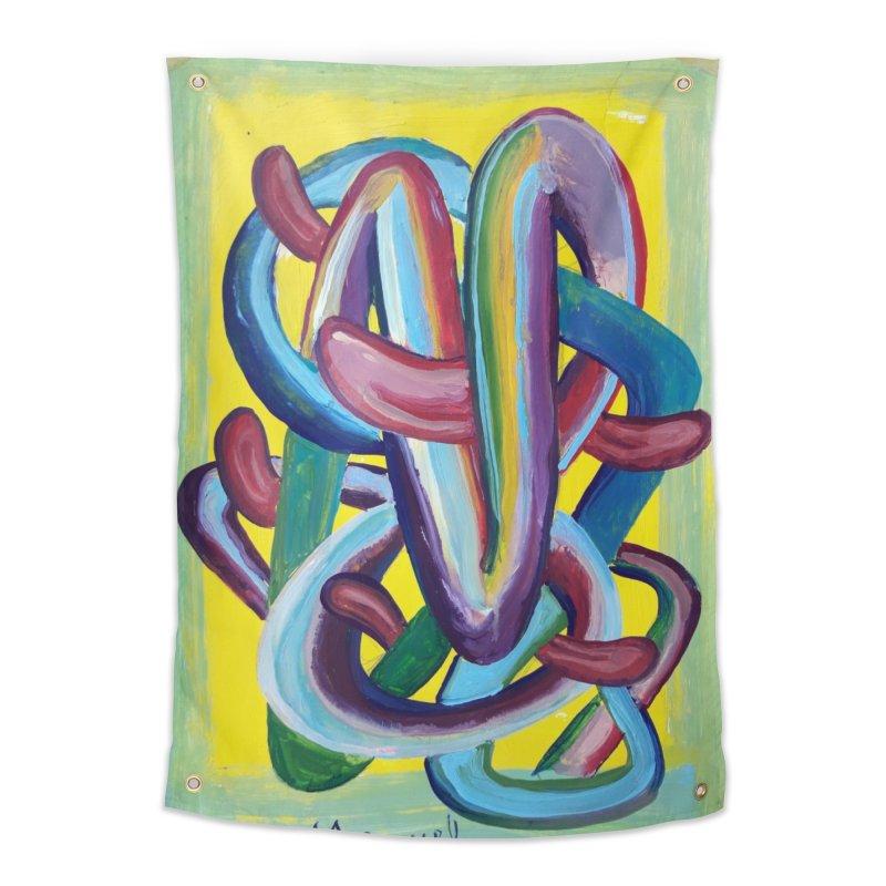 Formas en el espacio 6 Home Tapestry by diegomanuel's Artist Shop