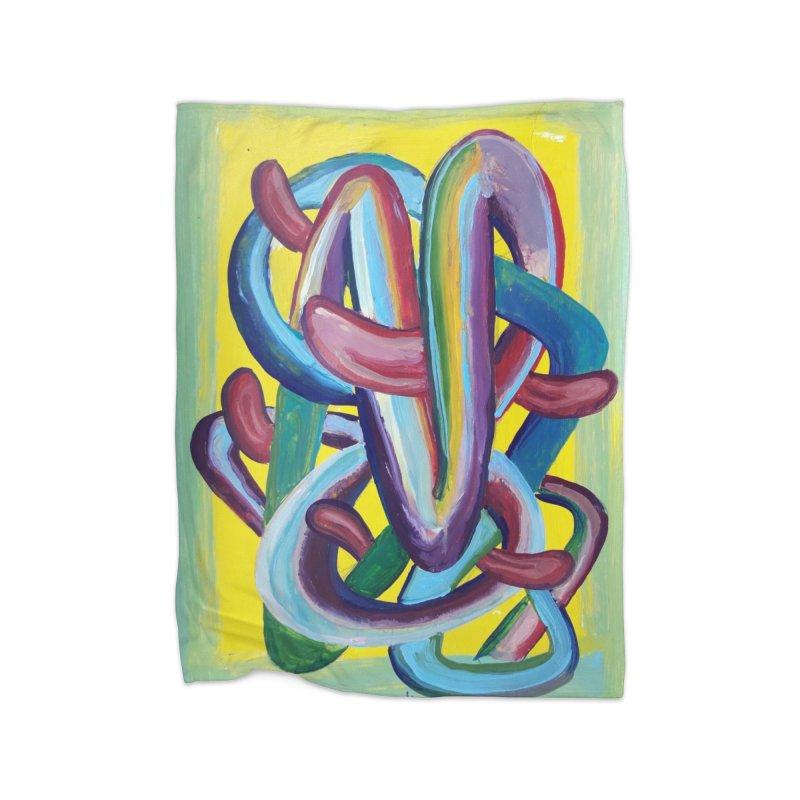 Formas en el espacio 6 Home Blanket by diegomanuel's Artist Shop