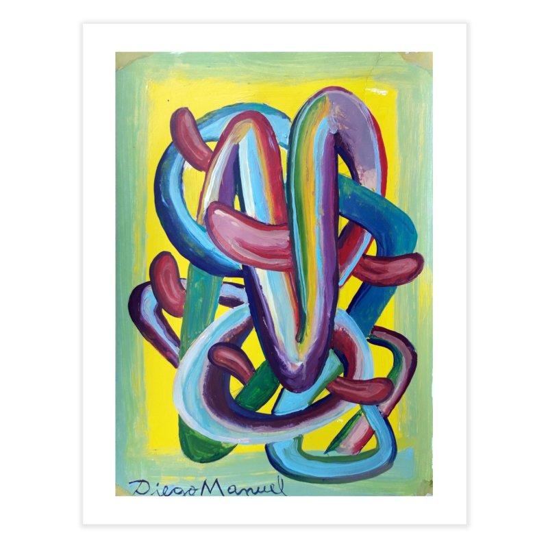 Formas en el espacio 6 Home Fine Art Print by Diego Manuel Rodriguez Artist Shop