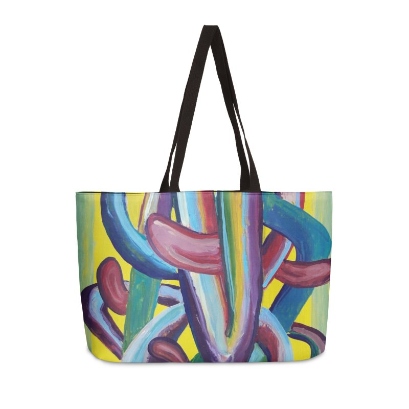 Formas en el espacio 6 Accessories Weekender Bag Bag by diegomanuel's Artist Shop
