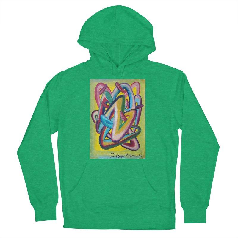 Formas en el espacio 5 Men's Pullover Hoody by diegomanuel's Artist Shop