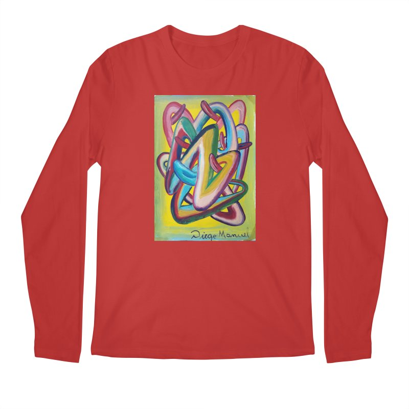Formas en el espacio 5 Men's Longsleeve T-Shirt by Diego Manuel Rodriguez Artist Shop
