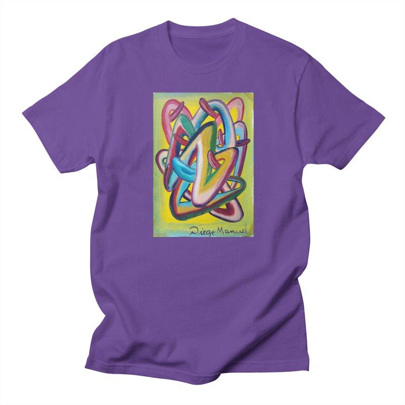 Formas en el espacio 5 Men's T-shirt by diegomanuel's Artist Shop