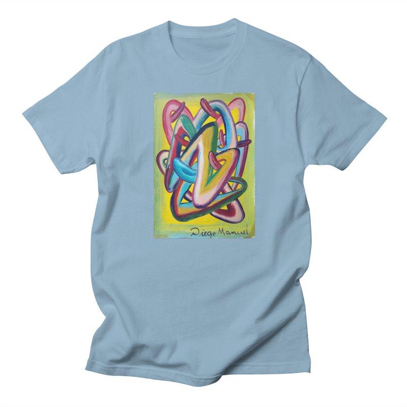 Formas en el espacio 5 Men's T-Shirt by Diego Manuel Rodriguez Artist Shop