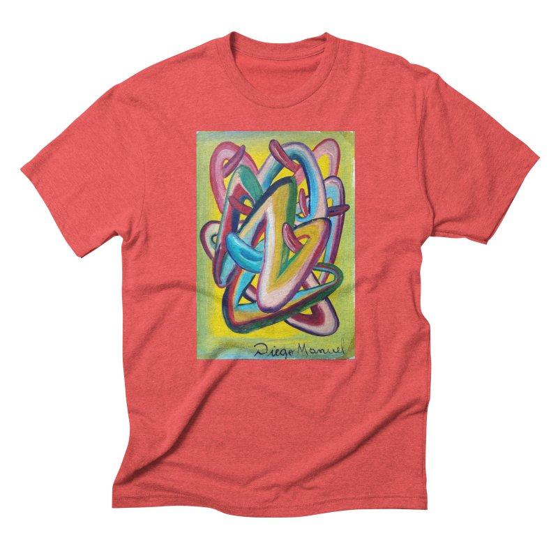 Formas en el espacio 5 Men's Triblend T-shirt by diegomanuel's Artist Shop