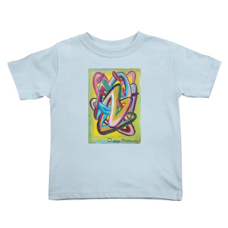 Formas en el espacio 5 Kids Toddler T-Shirt by diegomanuel's Artist Shop