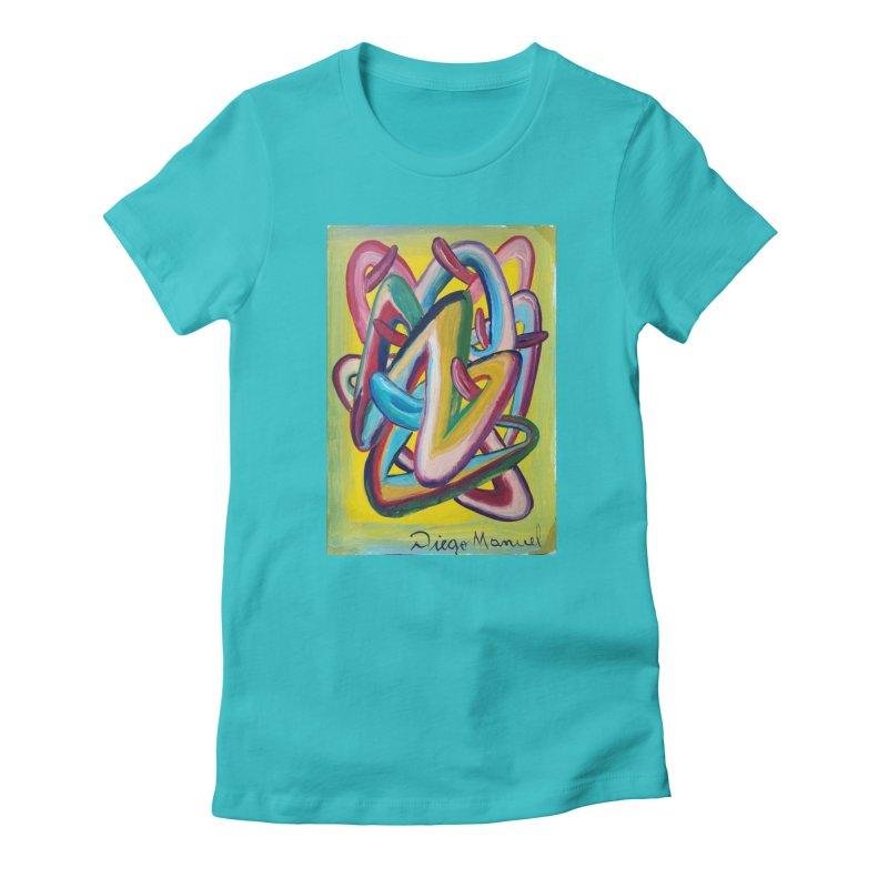 Formas en el espacio 5 Women's T-Shirt by Diego Manuel Rodriguez Artist Shop