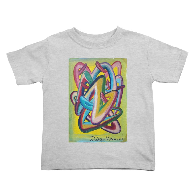 Formas en el espacio 5 Kids Toddler T-Shirt by diegomanuel's Artist Shop