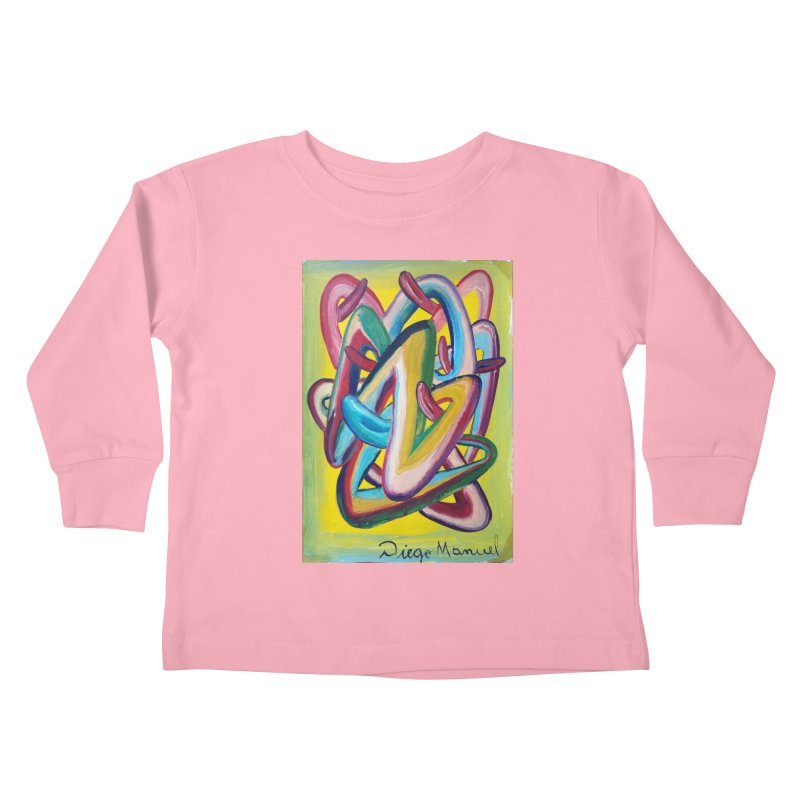 Formas en el espacio 5 Kids Toddler Longsleeve T-Shirt by diegomanuel's Artist Shop