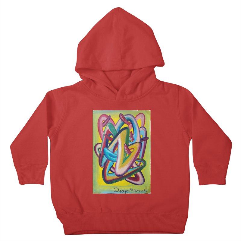Formas en el espacio 5 Kids Toddler Pullover Hoody by diegomanuel's Artist Shop