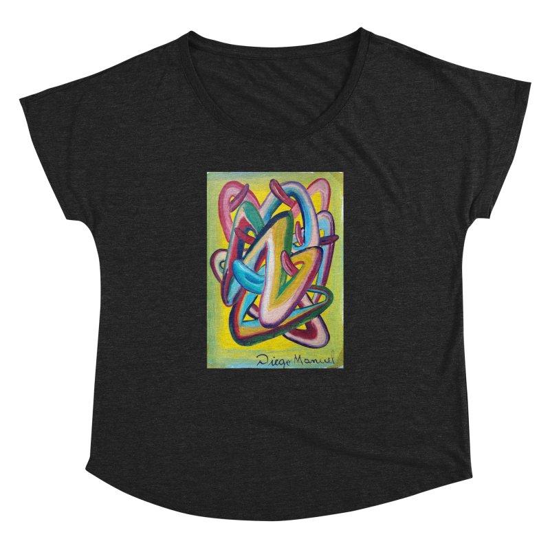Formas en el espacio 5 Women's Dolman by diegomanuel's Artist Shop