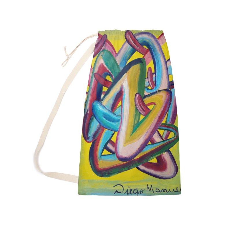 Formas en el espacio 5 Accessories Bag by Diego Manuel Rodriguez Artist Shop