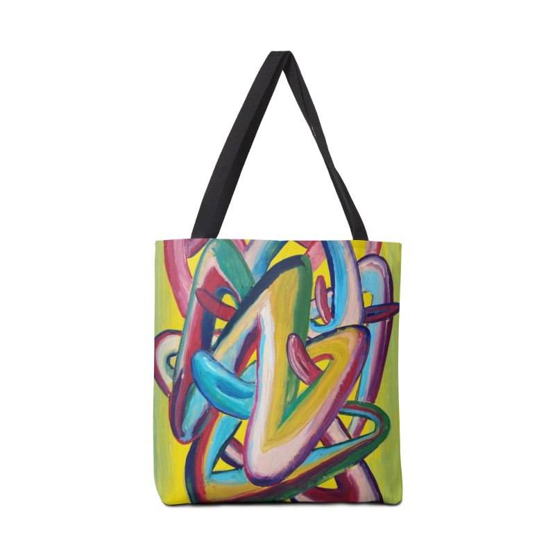 Formas en el espacio 5 Accessories Tote Bag Bag by diegomanuel's Artist Shop