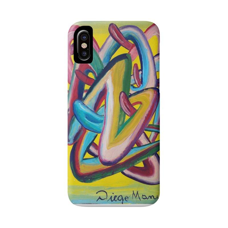 Formas en el espacio 5 Accessories Phone Case by diegomanuel's Artist Shop