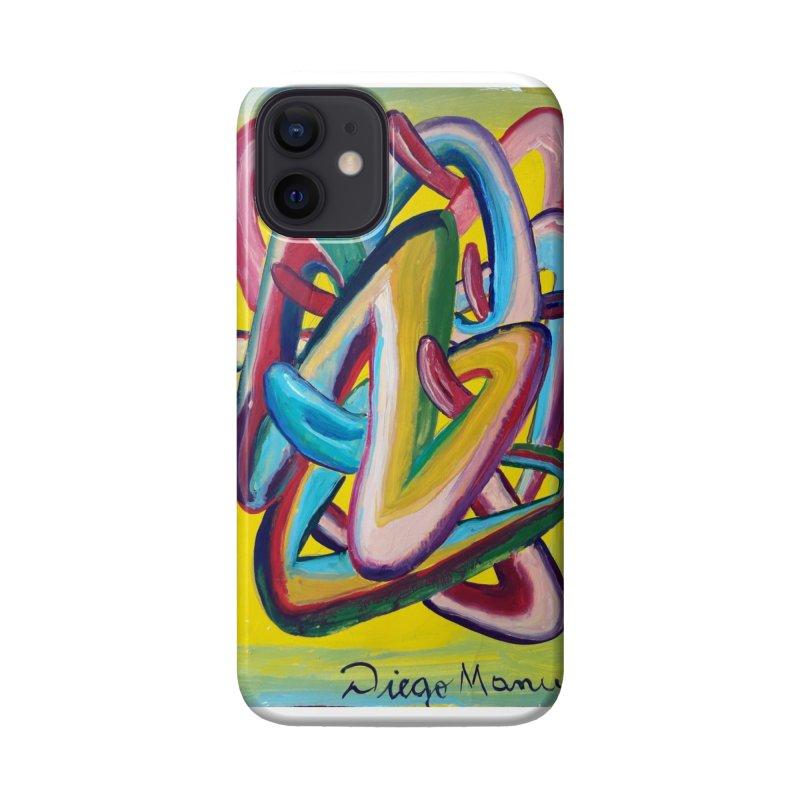 Formas en el espacio 5 Accessories Phone Case by Diego Manuel Rodriguez Artist Shop