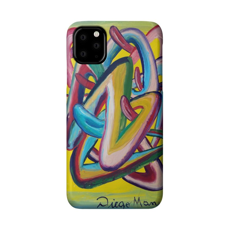 Formas en el espacio 5 Accessories Phone Case by Diego Manuel Rodriguez Artist Shop