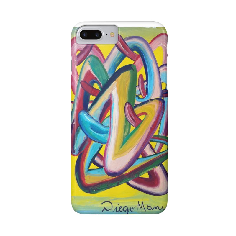 Formas en el espacio 5 Accessories Phone Case by diegomanuel's Artist Shop