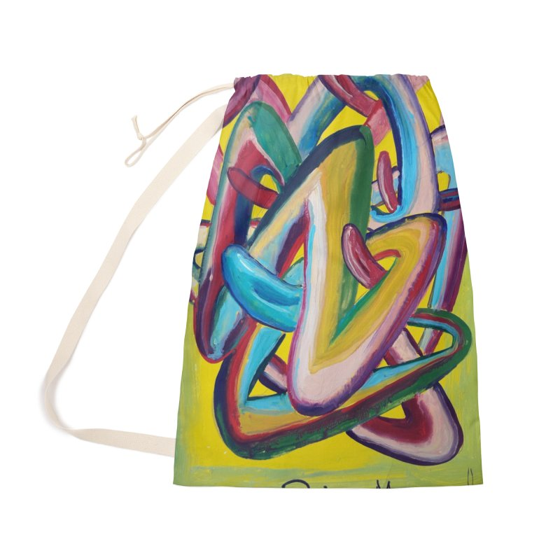 Formas en el espacio 5 Accessories Bag by Diego Manuel Rodriguez Artist Shop