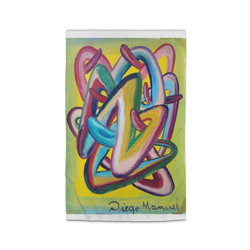 Formas en el espacio 5 Home Rug by diegomanuel's Artist Shop
