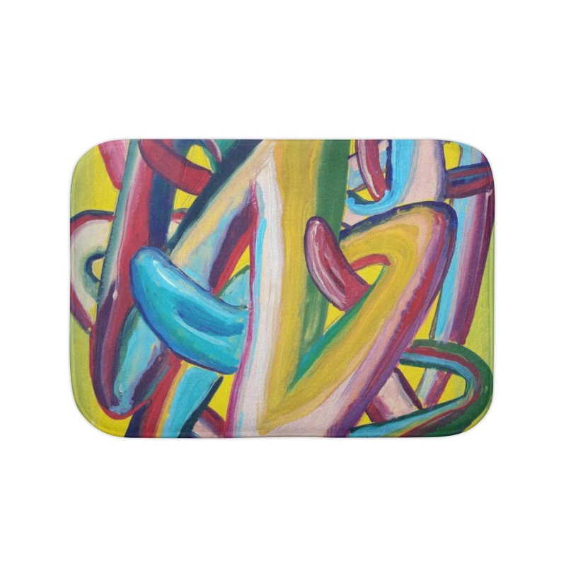 Formas en el espacio 5 Home Bath Mat by diegomanuel's Artist Shop