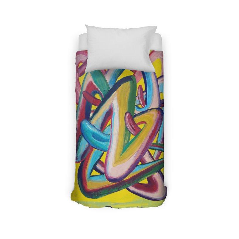 Formas en el espacio 5 Home Duvet by Diego Manuel Rodriguez Artist Shop