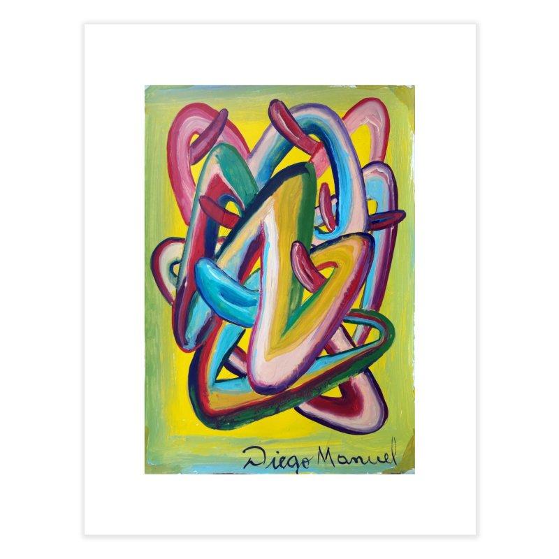 Formas en el espacio 5 Home Fine Art Print by Diego Manuel Rodriguez Artist Shop