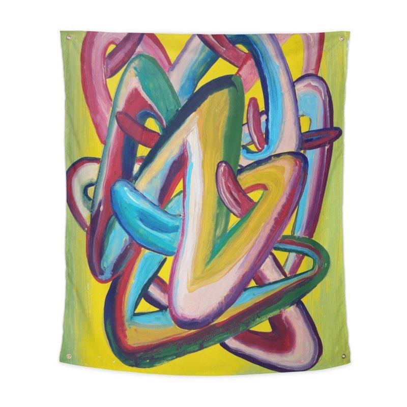 Formas en el espacio 5 Home Tapestry by Diego Manuel Rodriguez Artist Shop