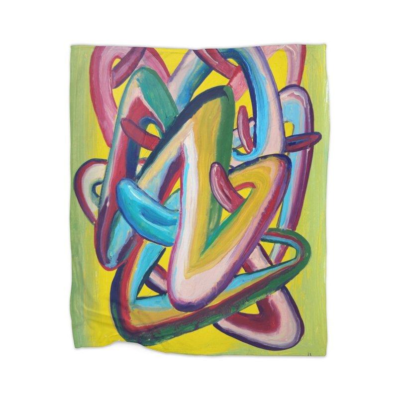 Formas en el espacio 5 Home Blanket by Diego Manuel Rodriguez Artist Shop
