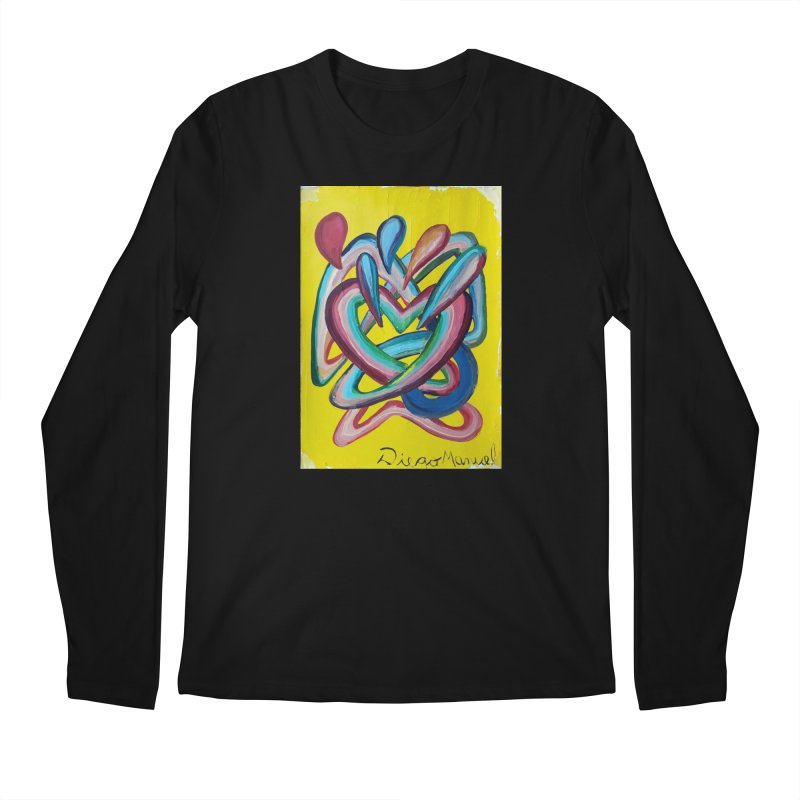 Formas en el espacio 4 Men's Longsleeve T-Shirt by Diego Manuel Rodriguez Artist Shop