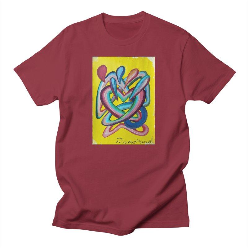 Formas en el espacio 4 Men's T-Shirt by Diego Manuel Rodriguez Artist Shop