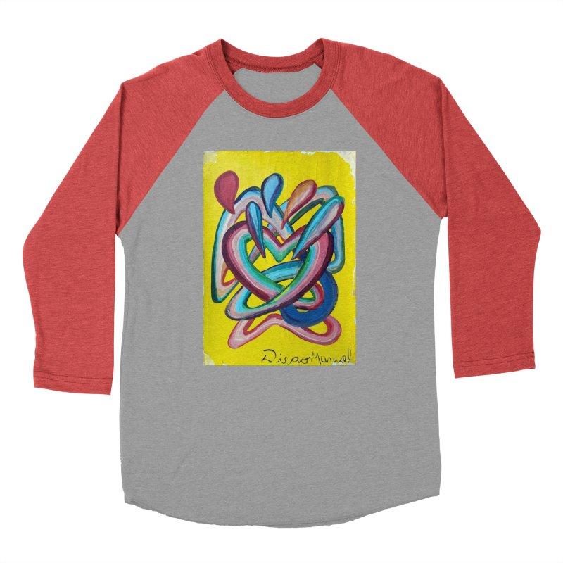 Formas en el espacio 4 Men's Baseball Triblend T-Shirt by diegomanuel's Artist Shop