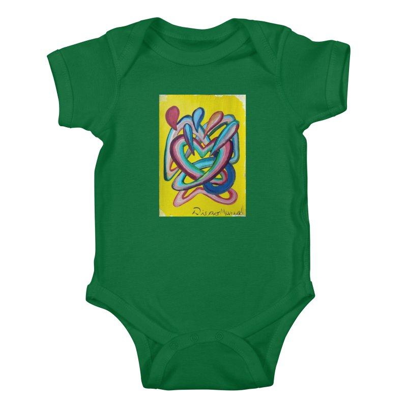Formas en el espacio 4 Kids Baby Bodysuit by Diego Manuel Rodriguez Artist Shop