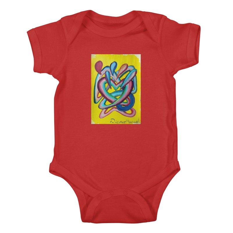 Formas en el espacio 4 Kids Baby Bodysuit by diegomanuel's Artist Shop