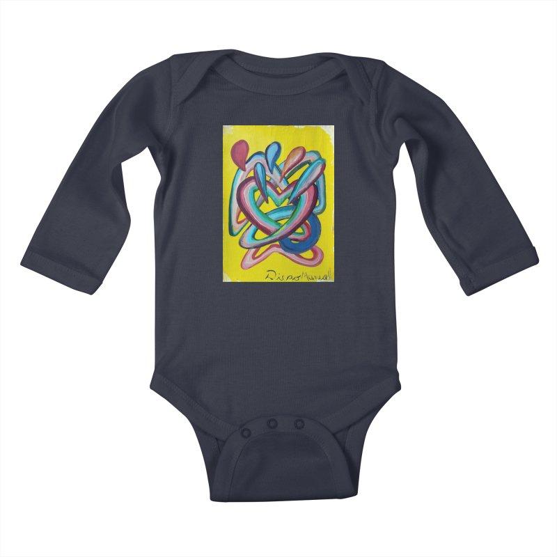 Formas en el espacio 4 Kids Baby Longsleeve Bodysuit by Diego Manuel Rodriguez Artist Shop