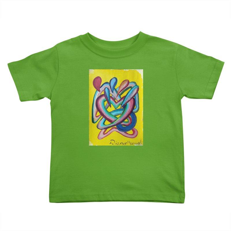 Formas en el espacio 4 Kids Toddler T-Shirt by Diego Manuel Rodriguez Artist Shop