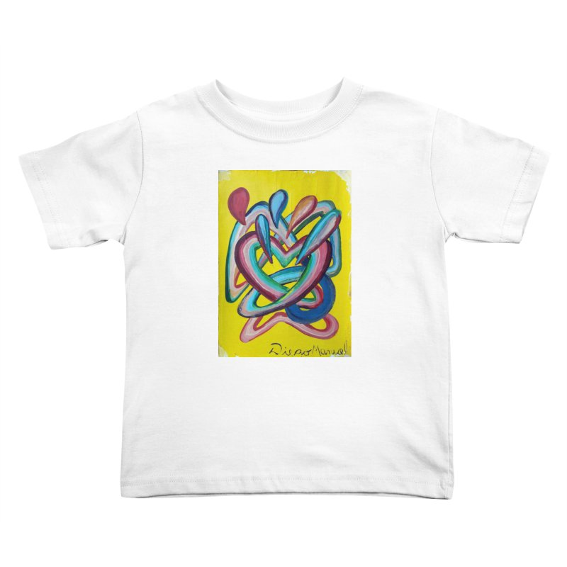 Formas en el espacio 4 Kids Toddler T-Shirt by diegomanuel's Artist Shop