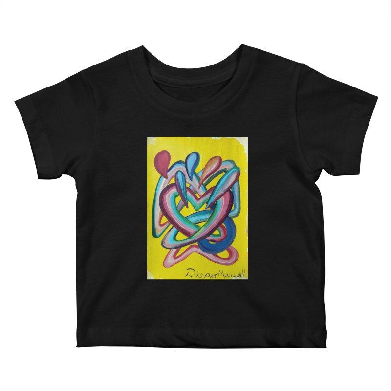 Formas en el espacio 4 Kids Baby T-Shirt by diegomanuel's Artist Shop