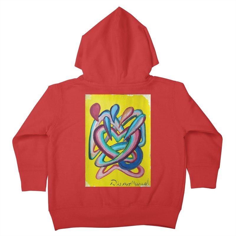 Formas en el espacio 4 Kids Toddler Zip-Up Hoody by Diego Manuel Rodriguez Artist Shop