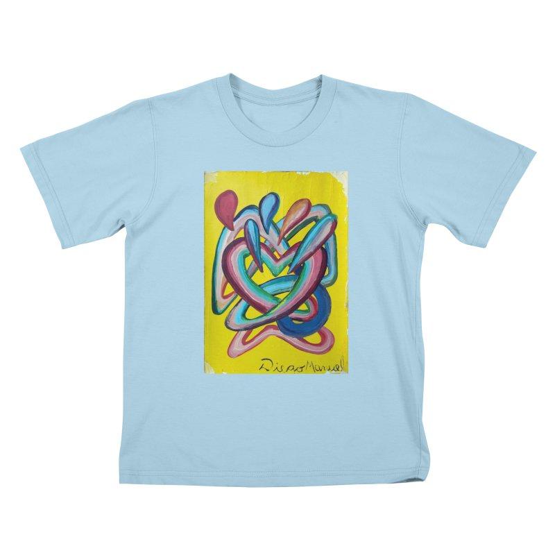 Formas en el espacio 4 Kids T-Shirt by Diego Manuel Rodriguez Artist Shop