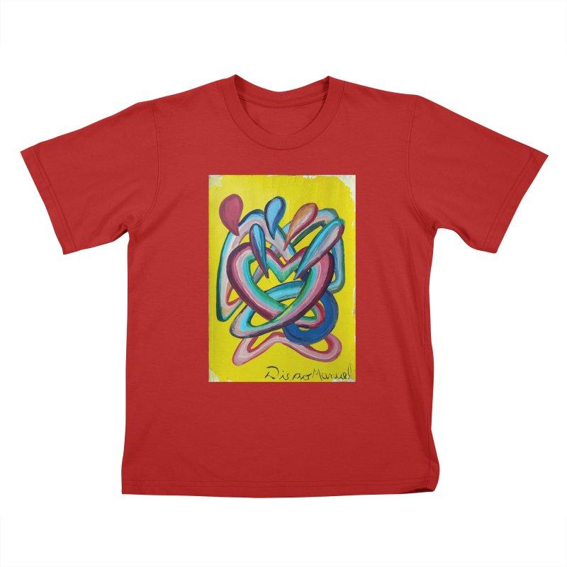 Formas en el espacio 4 Kids T-shirt by diegomanuel's Artist Shop