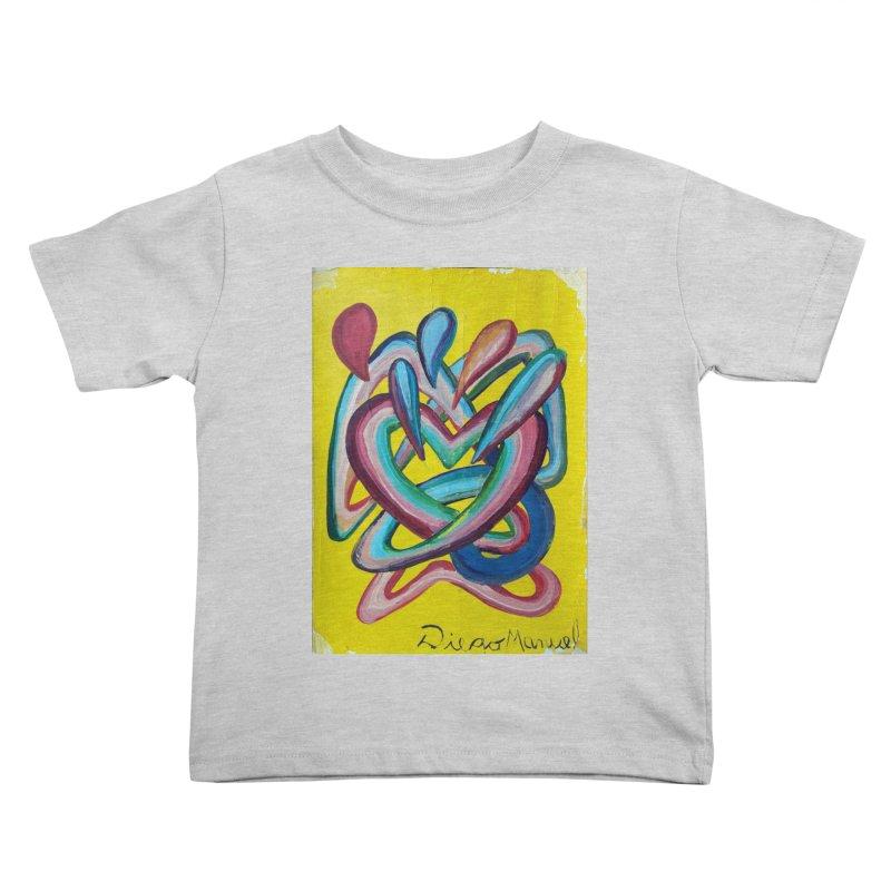 Formas en el espacio 4 Kids Toddler T-Shirt by diegomanuel's Artist Shop
