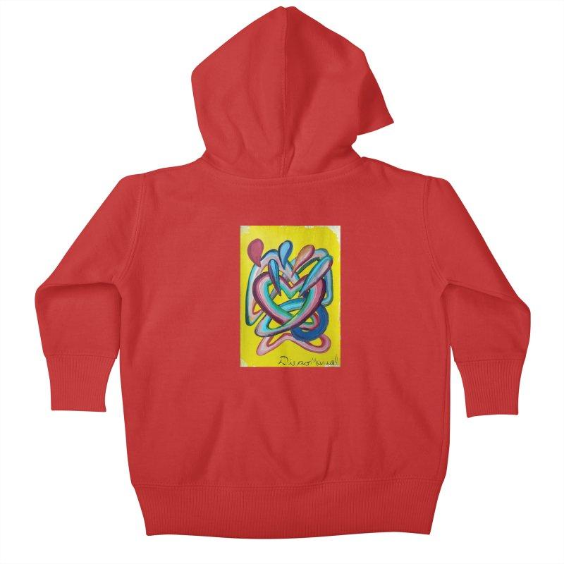 Formas en el espacio 4 Kids Baby Zip-Up Hoody by diegomanuel's Artist Shop